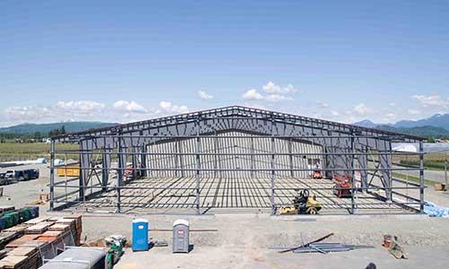 Pre-Engineered Steel Buildings: